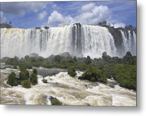 Beautiful Iguazu Waterfalls  Metal Print
