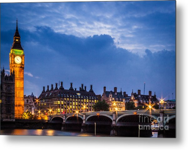 Beautiful London Metal Print