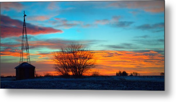 Beautiful Mornin' Panorama Metal Print