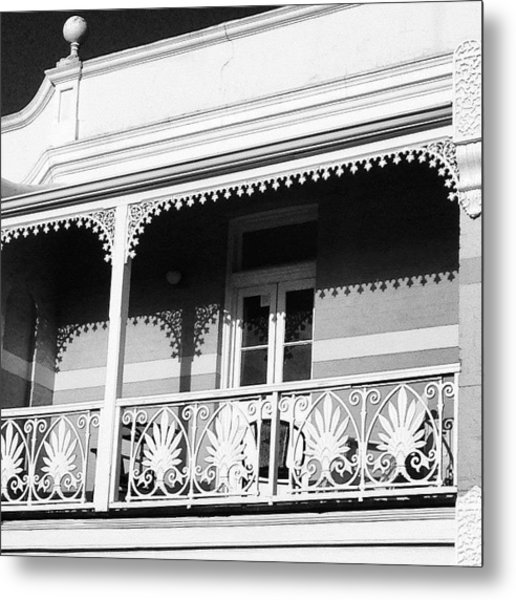 Beautiful Balcony Metal Print
