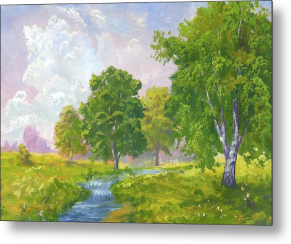 Beautiful Summer Metal Print by Pobytov