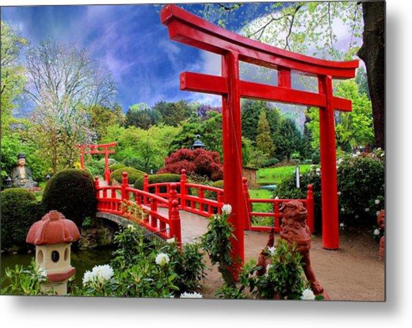 Beautiful Zen Garden Metal Print