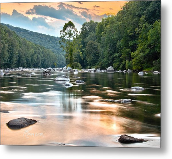 Beauty At Low Tide Metal Print