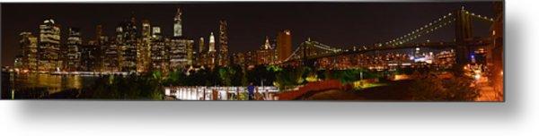 Beauty From Brooklyn Bridge Park Metal Print