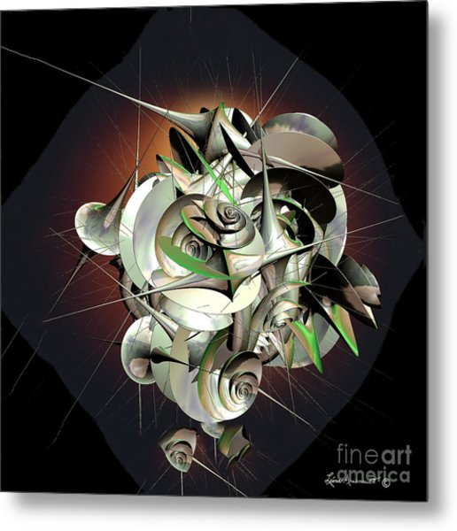 Beauty In Chaos Metal Print