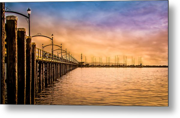 Beauty Of Color And Wonder Of The World Metal Print