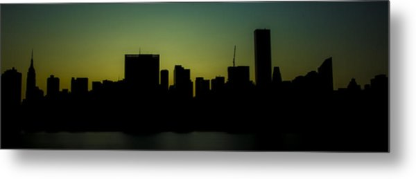 Beauty Of The Night Metal Print