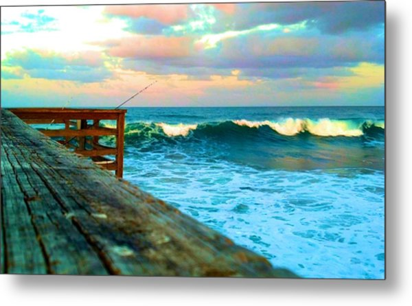 Beauty Of The Pier Metal Print