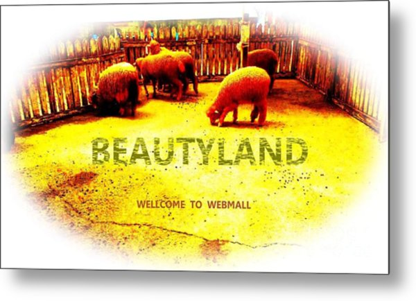 Beautyland Metal Print