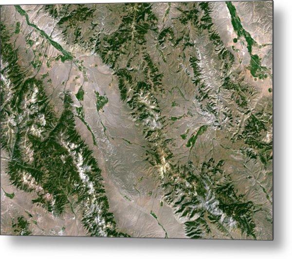 Beaverhead Crater Metal Print