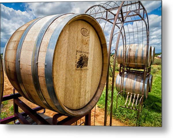 Becker Vineyards Metal Print