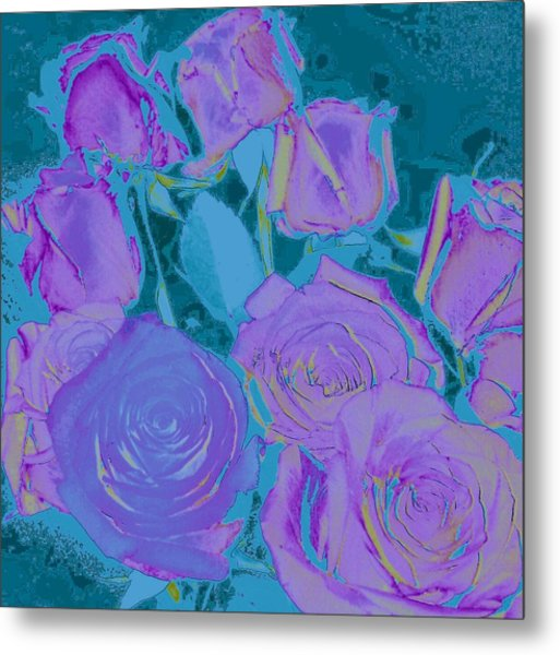Bed Of Roses II Metal Print
