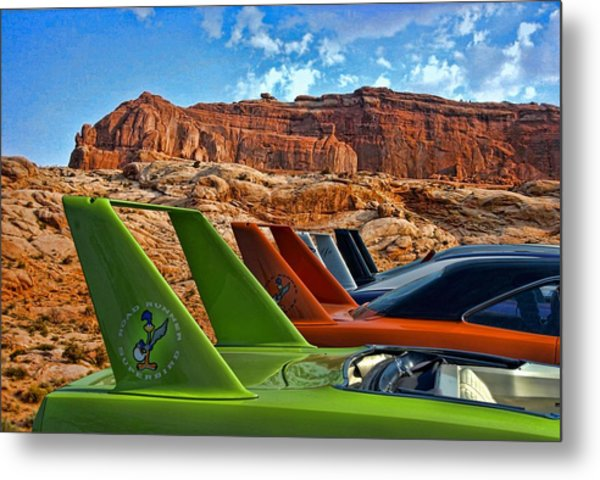 Metal Print featuring the photograph Beep Beep by Tim McCullough