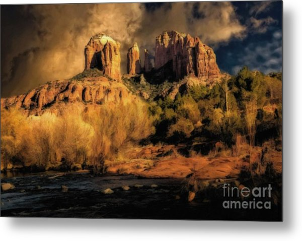 Before The Rains Came Metal Print