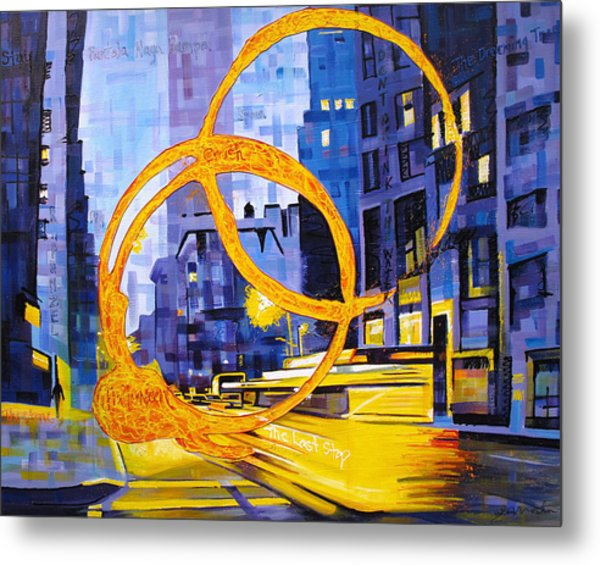 Before These Crowded Streets Metal Print