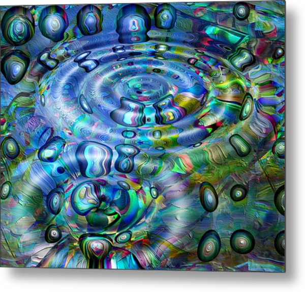 Beginnings Metal Print by Wendy J St Christopher