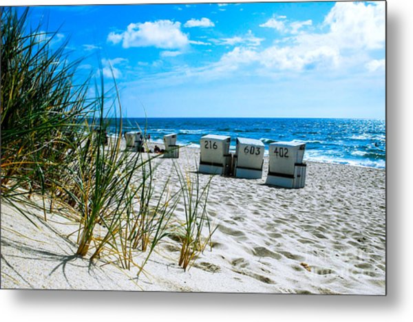 Behind The Dunes -light Metal Print