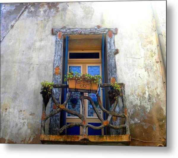 Metal Print featuring the photograph Behind The Window ... by Cristina Stefan