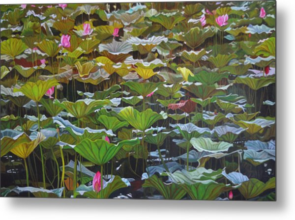 Beijing In August Metal Print