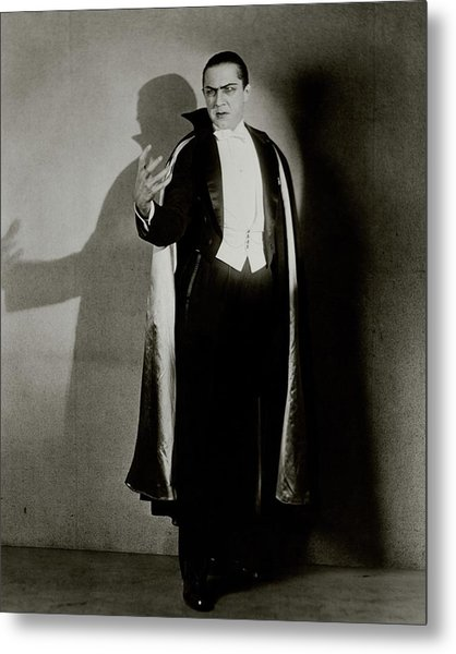 Bela Lugosi As Dracula Metal Print by Florence Vandamm