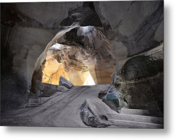 Bell Caves Metal Print