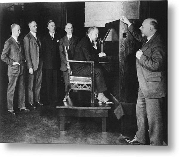 Bell Labs Talks To Hoover Metal Print
