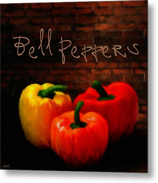 Bell Peppers II Metal Print