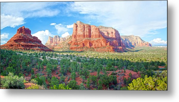 Bell Rock And Courthouse Butte Metal Print