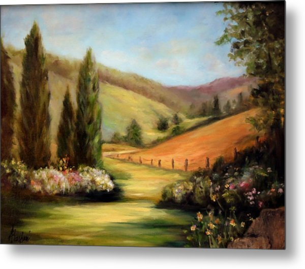 Bella Valle Metal Print