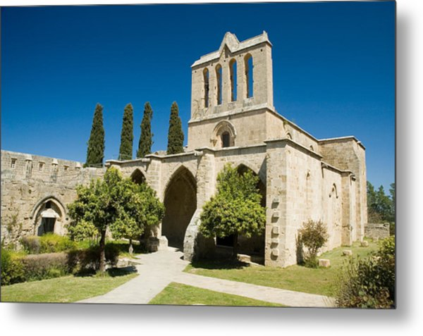 Bellapais Abbey Kyrenia Metal Print
