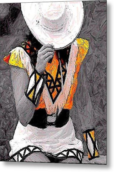 Belle Art 26 Metal Print