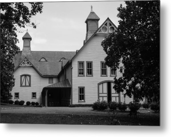 Belle Meade Mansion Carriage House Metal Print