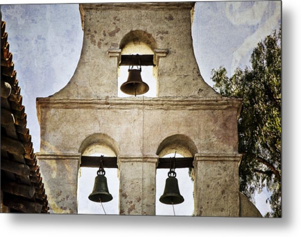 Bells Of Mission San Diego Metal Print