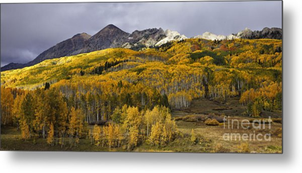 Below The Ruby Range Metal Print