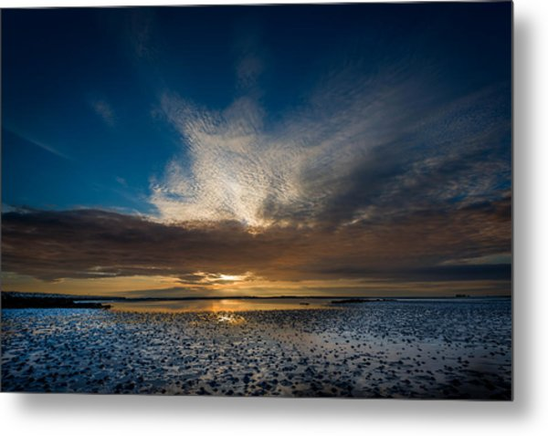 Benbecula Sunset Metal Print