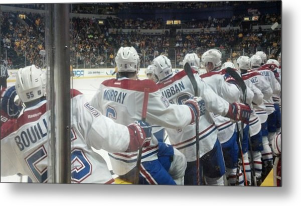 Bench Celebration Metal Print