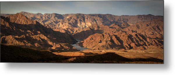 Bends Of The Colorado Metal Print