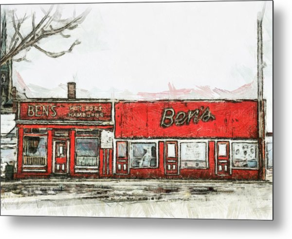 Ben's Metal Print by Jason Bennett