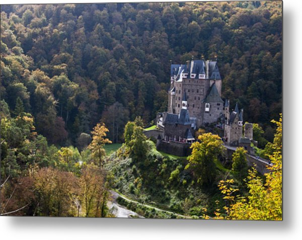 Burg Eltz Castle Rhineland-palatinate Metal Print
