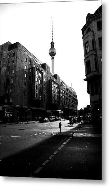 Berlin Bw Metal Print by Falko Follert