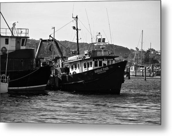 Bermagui Boats Metal Print