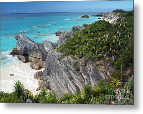 Bermuda Beach Metal Print