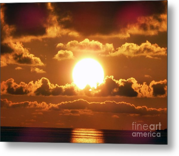 Bermuda Sunset Metal Print