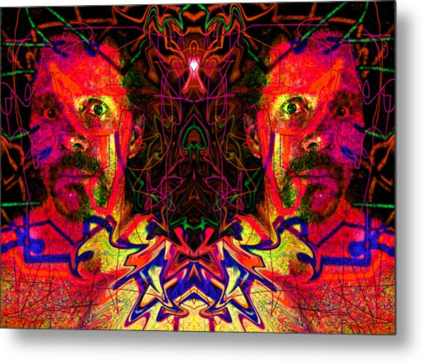 Beside Myself With Entropic Axis 2014 Metal Print