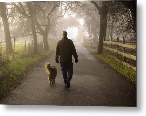 Metal Print featuring the photograph Best Buddies 2 by Sherri Meyer