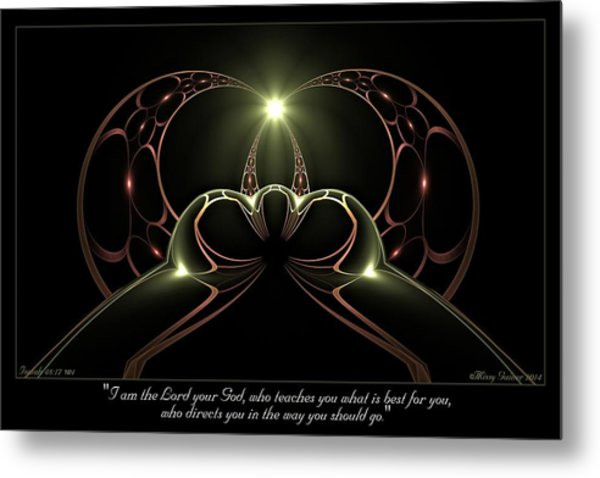 Best For You Metal Print
