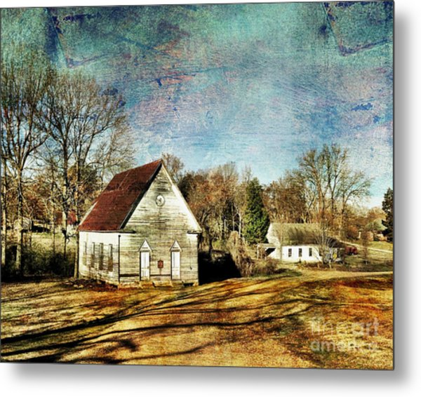 Bethany Baptist Church Enid Ms Metal Print