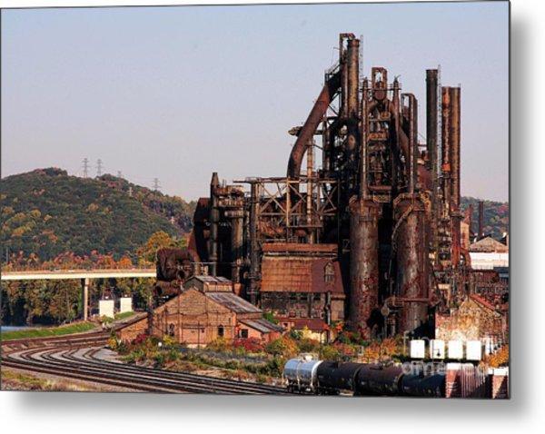 Bethlehem Steel # 8 Metal Print