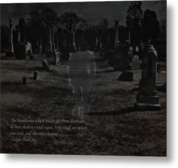 Between Life And Death Metal Print
