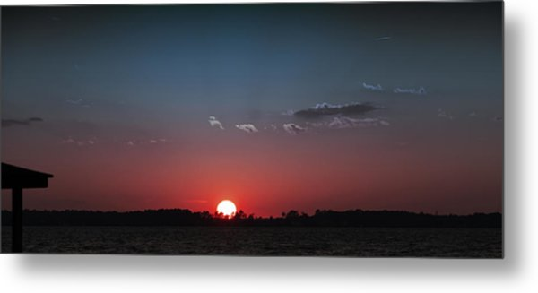 Between The Light And The Dark Metal Print